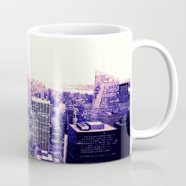 Lavender New York Coffee Mug