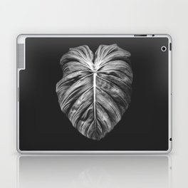 Monstera Deliciosa Black and White Laptop & iPad Skin