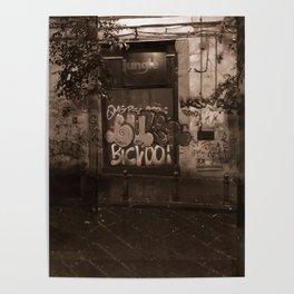 Napoli Street Poster