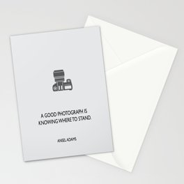 A good photograph Stationery Cards