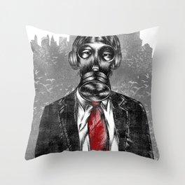 the executive  Throw Pillow