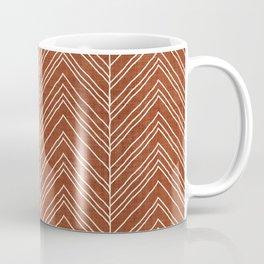 Strand in Rust Coffee Mug