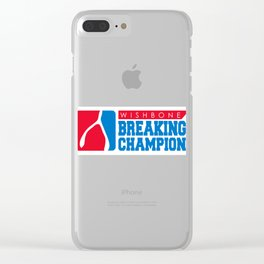 Wishbone Champion Clear iPhone Case