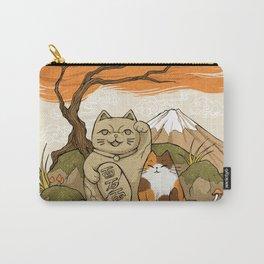Maneki Neko Carry-All Pouch