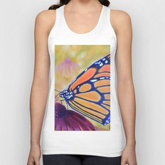 King of butterfly | Le roi des papillons Unisex Tank Top