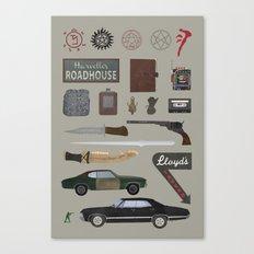 Supernatural (2015) Canvas Print
