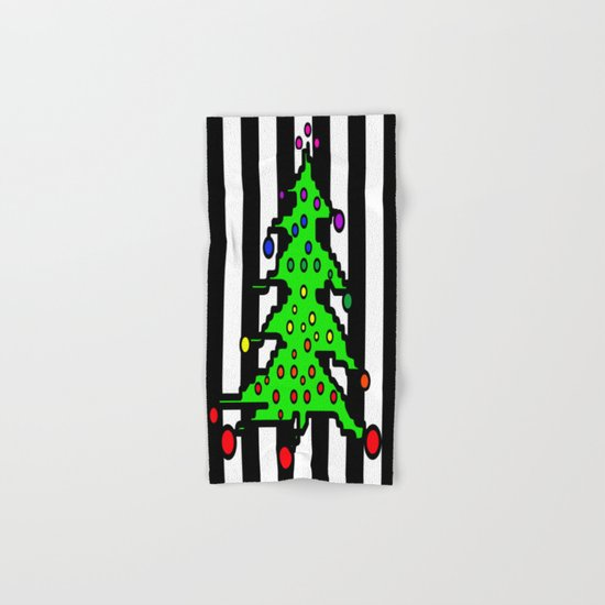 Christmas Tree | I Love Christmas Hand & Bath Towel