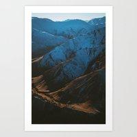 Mountains II Art Print