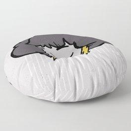 Rainy Days Floor Pillow