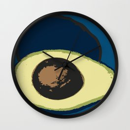 Life Cycle of an Avocado Wall Clock