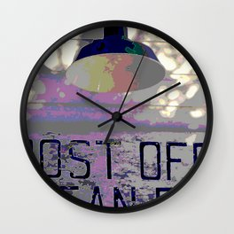 Old Post Office Wall Clock