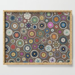 pango mandala truffle Serving Tray