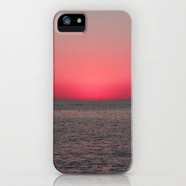 crimson florida sunset iPhone Case