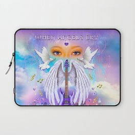 When Angels Cry Laptop Sleeve