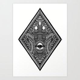 Hamsa  Art Print