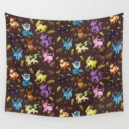 Eeveelutions Wall Tapestry