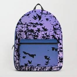 Blue sky birds freedom flight Backpack