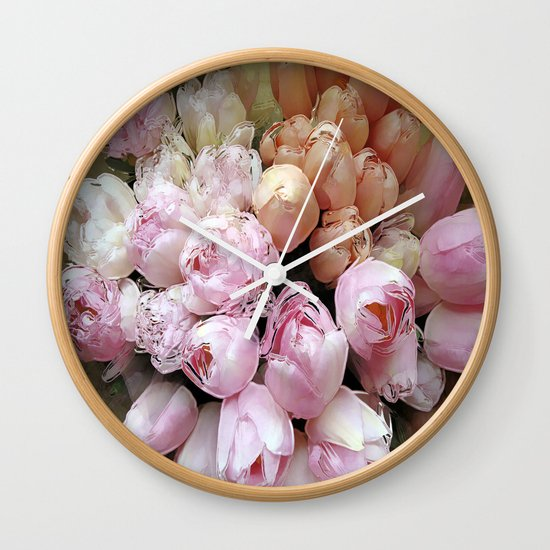 Tulips from Amsterdam Wall Clock
