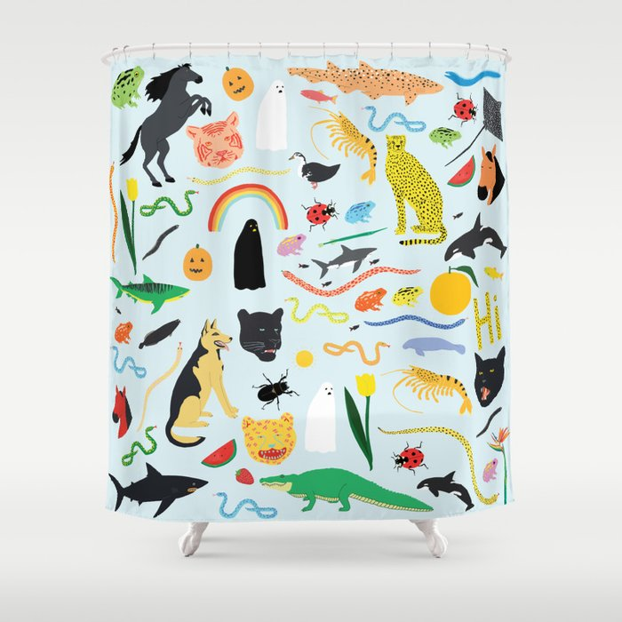 Everyone is Invited Shower Curtain