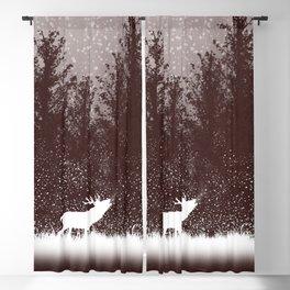 The rut - deer mating season Blackout Curtain