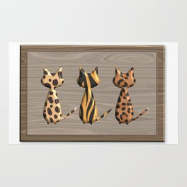 Wild Cats Rug