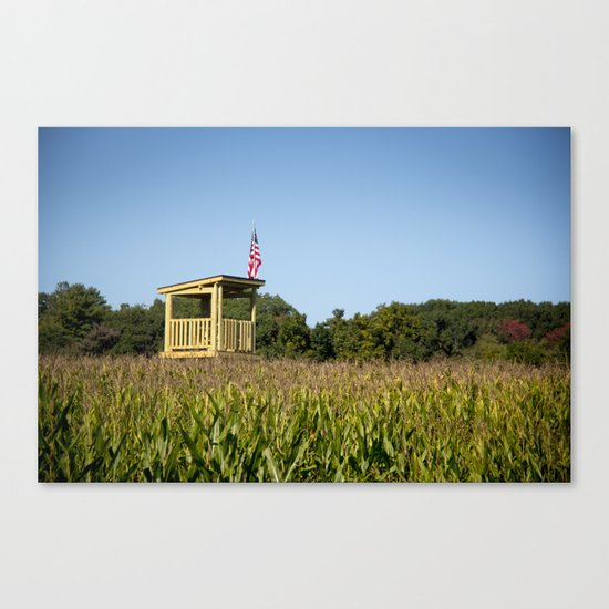 Watch Tower Canvas Print
