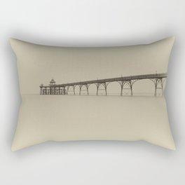 1046249 Clevedon Pier Rectangular Pillow