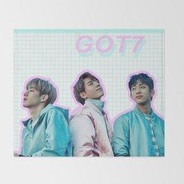GOT7 Throw Blanket