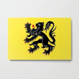 Flanders Metal Print