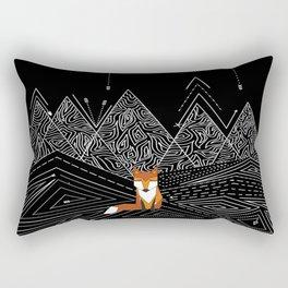 Foxy Night Rectangular Pillow