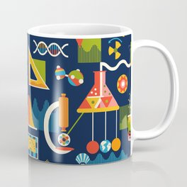 Mod Science Matters Navy Coffee Mug