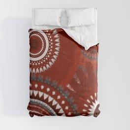 Ruby Mandalas Comforters