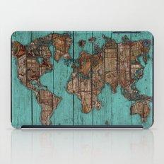 Wood Map iPad Case