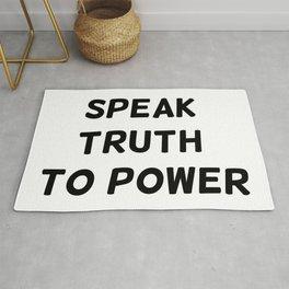 Speak Truth To Power Rug