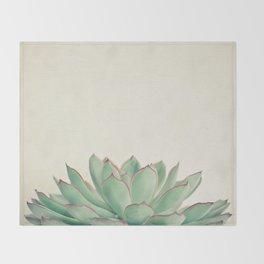 Echeveria Throw Blanket