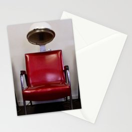 Vintage Hair Dryers Stationery Cards