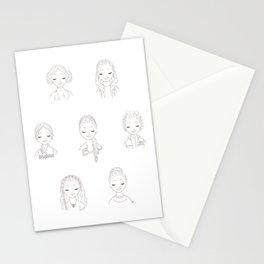 Princess of the Stars Stationery Cards