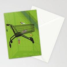 Trolley Gymnastics Stationery Cards