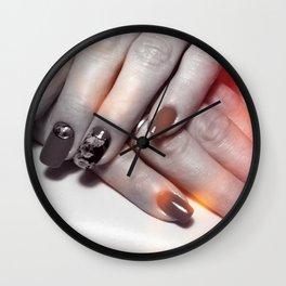 VI Wall Clock