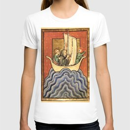 ship of fool ojolo T-shirt