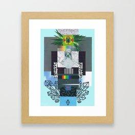 vaporwave12 Framed Art Print