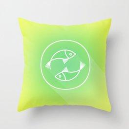 Icon No.3. Throw Pillow