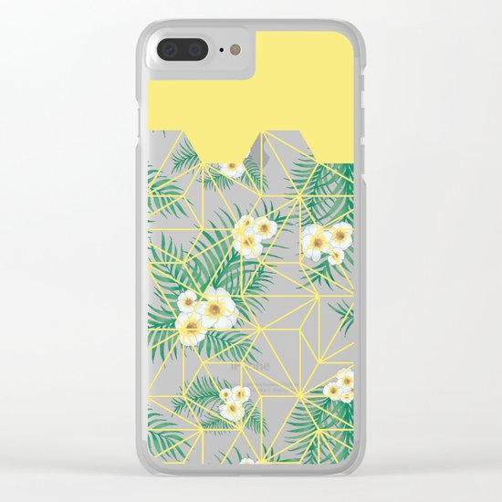 Tropical Tiles #society6 #decor #buyart Clear iPhone Case