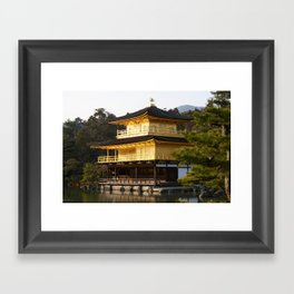 Kinkakuji Golden Temple Framed Art Print