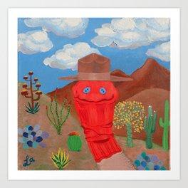 Ranger Sock Art Print