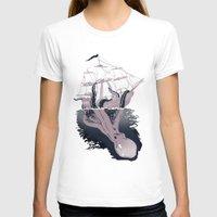 kraken T-shirts featuring Kraken by Alex Ray