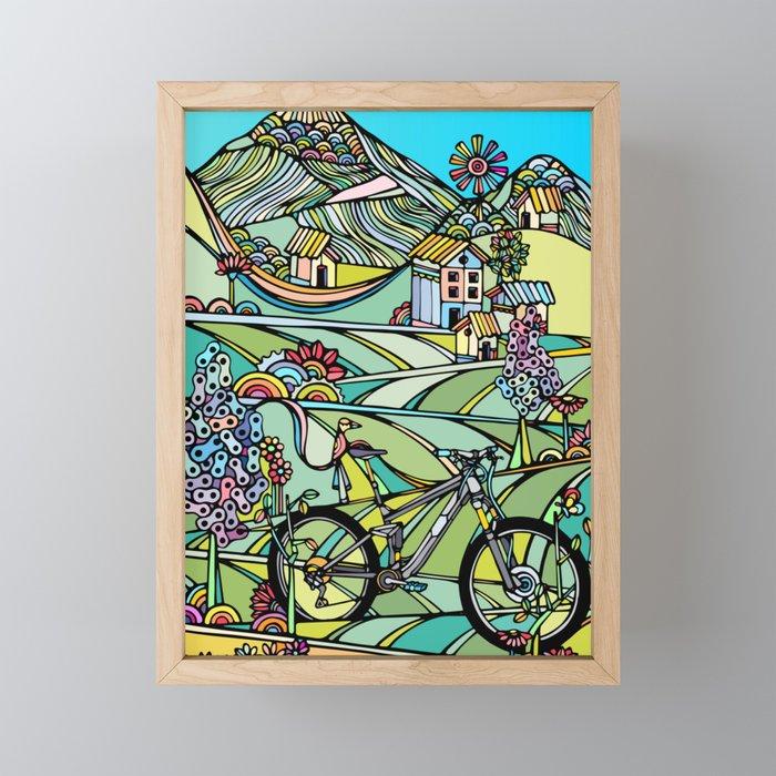 Ride or Die Framed Mini Art Print