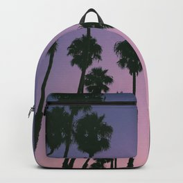 Palm Trees With Tropical Sunset Backpack
