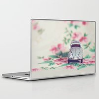 volkswagon Laptop & iPad Skins featuring VDub Beetle by Anna Dykema Photography