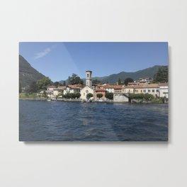 The village of Torno on Lake Como, Italy Metal Print